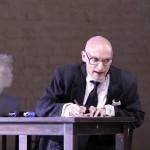 Michael Berner als Aristophanes