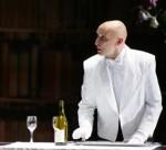 Michael Berner als Kammerdiener